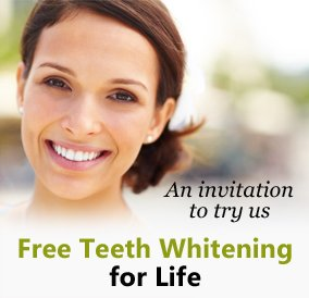 New Patient Specials Little Elm - Free Teeth Whitening for Life