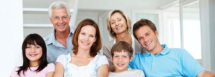 - Smiling Family